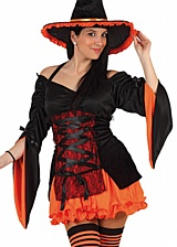 Costume de Sorciere  Tamara Orange